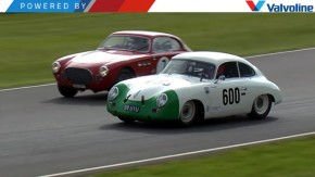 Comece a semana com este Porsche 356 ultrapassando 27 carros em menos de cinco minutos