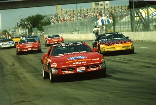 # 5 - 1989 Corvette Challenge ex Bruce Feldman Doug Rippie Motorsports at Des Moines-L
