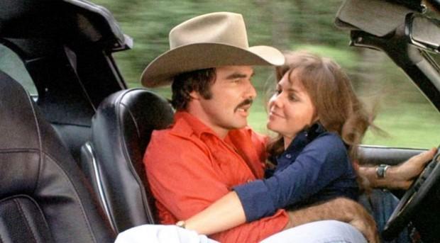 Burt Reynolds Sally Field Smokey and the Bandit 1977