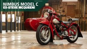 Esta Nimbus Model C 1939 de Steve McQueen foi uma das motos mais avançadas de seu tempo – entenda