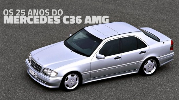 C36 AMG: os 25 anos do primeiro carro da Mercedes-AMG