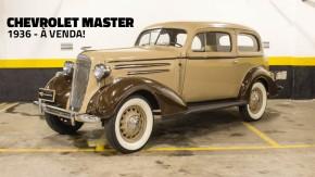 Chevrolet Master: que tal um clássico dos anos 1930 na sua coleção?