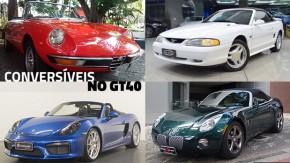 Estes são alguns dos carros conversíveis mais legais do GT40