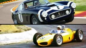 As Ferrari de corrida que não foram pintadas de vermelho – e a história de cada uma delas