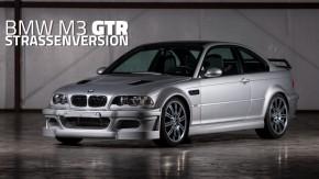 BMW M3 GTR E46: este foi o primeiro M3 com motor V8 já feito – e é o mais raro de todos