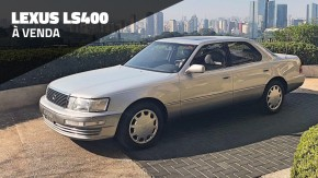 O Lexus LS400 é um sedã de luxo alemão feito pelos japoneses – e este exemplar impecável está à venda