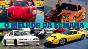 Ferraris em Araxá, os novos Jetta e Mercedes A35 AMG, as Monza da Ferrari e as novidades da semana no FlatOut e no YouTube do FlatOut!
