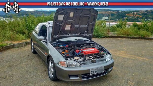 Project Cars #465: meu Honda Civic VTi EG está pronto!