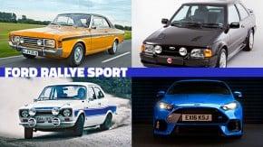 Rallye Sport: os 50 anos da divisão RS da Ford – e seus modelos mais marcantes