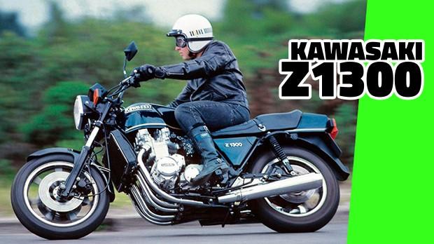 Kawasaki Z1300: a moto com seis cilindros e 130 cv que assombrou o mundo nos anos 80