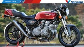 Honda CBX 1050: a moto com motor de seis cilindros que roncava como um Fórmula 1