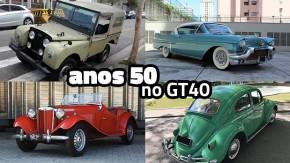 Eis alguns dos clássicos dos anos 50 mais legais anunciados no GT40