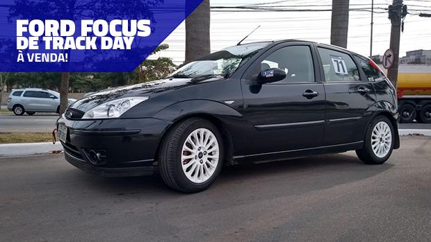 Este Ford Focus é um projeto pronto de track day e está à venda!