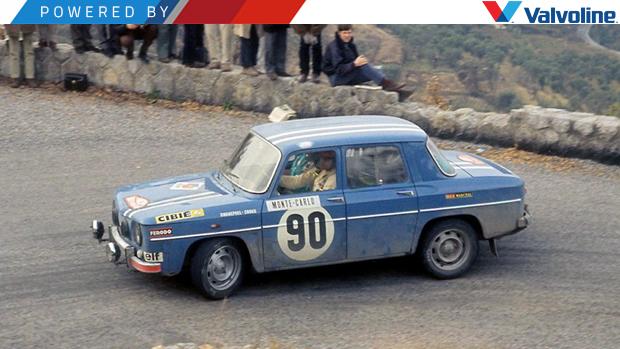 Era assim que se pilotava um Renault R8 Gordini de corrida nos anos 60: uma aula com Jean-François Piot