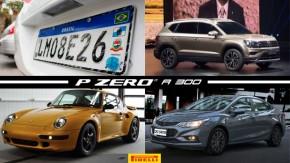 Placas do Mercosul são liberadas, Volkswagen terá novo SUV em 2019, Fiat começa a revelar seu SUV conceitual e mais!
