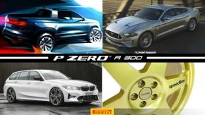 Volkswagen anuncia picape rival da Fiat Toro, Mustang poderá ter versão quatro portas, BMW M3 finalmente pode ganhar versão perua e mais!