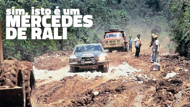 Estrelas na lama: os carros de rali da Mercedes-Benz