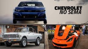 Um Camaro de arrancada elétrico, um Corvette Yenko (!) e uma Blazer 1971 restomod: os destaques da Chevrolet no SEMA