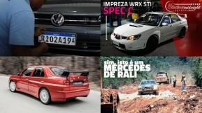 A suspensão das placas do Mercosul, uma categoria de monopostos para mulheres, um Subaru WRX STI Spec C e as novidades da semana no FlatOut e no YouTube do FlatOut
