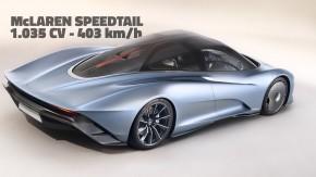 McLaren Speedtail: o sucessor do lendário F1 é um híbrido de 1.035 cv que chega aos 403 km/h