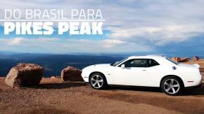 Um brasileiro e um Dodge Challenger a caminho do topo de Pikes Peak