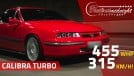 315 km/h, 455 cv nas rodas: o Calibra Turbo de Thiago é um monstro de top speed