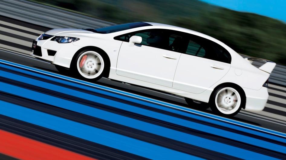Fruto Proibido: O Honda Civic Type R Sedã (com Motor K20 De 240 Cv