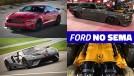 Mustang hardtop com V8 Ferrari biturbo, GT Carbon Series e mais: a Ford no SEMA Show 2018