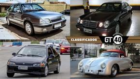 Um Kadett GSi muito bem conservado, um belo Mercedes W210 seis-em-linha, um Civic EX cupê cheio de potencial e mais no GT40