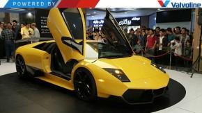 """Engenheiro iraniano revela """"cópia perfeita"""" de um Lamborghini Murciélago… com motor V6 de 3,8 litros"""