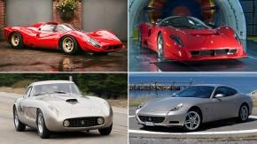 Os melhores exemplos da fina arte de se fazer uma Ferrari retrô