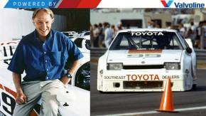 Quando Dan Gurney, o herói americano, estreou a campanha de lançamento do Toyota Supra
