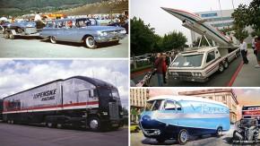 Race car transporters: os incríveis veículos que levavam os carros de corrida do passado para a pista – parte 2