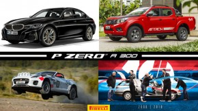 O novo BMW M340i de 390 cv, Nissan divulga preços e pacotes da Frontier 2019, Jaguar F-Type vira carro de rali e mais!
