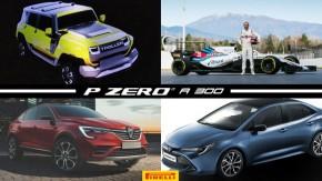Troller quatro-portasé mostrado no Salão, Kubica de volta à F1 em 2019, novo Corolla será lançado sexta-feira e mais!