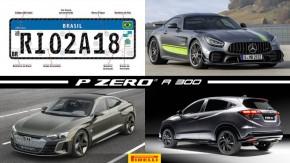 Placas do Mercosul mudam de novo, o novo Mercedes-AMG GT R Pro, o Porsche Taycan da Audi e mais!