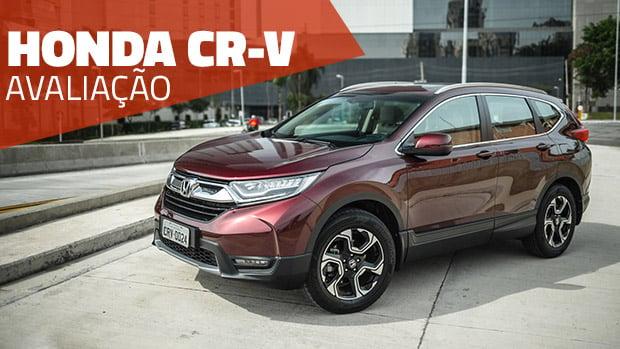 Aceleramos o Honda CR-V Touring 1.5 turbo de 190 cv: onde ele se encaixa no mercado atual?