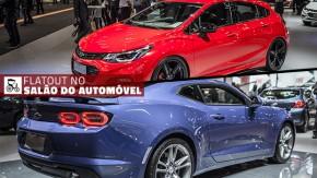 Um Cruze SS de 300 cv, o novo Camaro SS, Bolt no Brasil e os destaques da Chevrolet no Salão do Automóvel