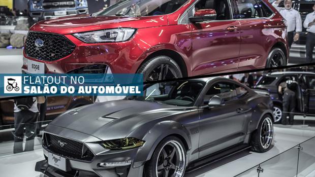 Um Mustang de 1.000 cv, Edge ST no Brasil e os destaques da Ford no Salão do Automóvel