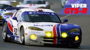 Chrysler Viper GTS-R: a primeira versão de corrida do ícone da Dodge nos anos 90