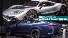 Project One, AMG GT 63 S 4 Portas, o novo Classe A Sedan e os destaques da Mercedes no Salão do Automóvel