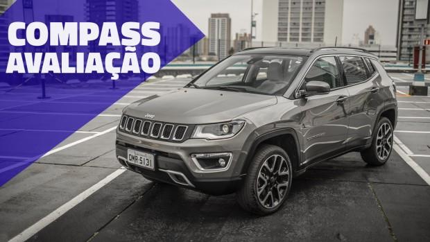 Aceleramos o Jeep Compass Limited Diesel – por que ele é o SUV mais vendido do Brasil?