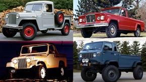 Commando, Comanche, Scrambler, Gladiator: a história das picapes da Jeep