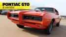Um Pontiac GTO de plaqueta, caracterizado como The Judge e com motor de corrida à venda no Brasil
