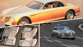 Chrysler Phaeton: o conceito com dois para-brisas e motor V12 que só acelerou em Gran Turismo 2