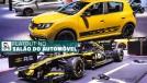 Renault mostra Sandero R.S. Amarelo Sirius e lança o elétrico Zoe no Salão do Automóvel
