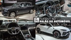 Os dois SUVs mais extremos do Salão do Automóvel: Rolls-Royce Cullinan e Lamborghini Urus, em detalhes