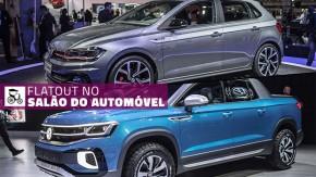 Polo e Virtus GTS, picape Tarok e T-Cross são os destaques da Volkswagen no Salão do Automóvel