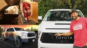 Este cara usou sua Toyota Tundra para socorrer vítimas dos incêndios da Califórnia – e agora ganhou uma picape nova