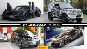 """Um Koenigsegg de fibra de carbono exposta, Defender pode ser lançado ainda neste mês, Paraná terá """"eletrovia"""" de 730 km e mais!"""